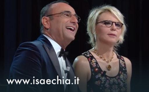 Festival di Sanremo 2017 -Carlo Conti-Maria De Filippi