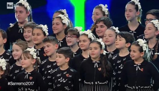 Festival di Sanremo 2017-Piccolo Coro dell'Antoniano