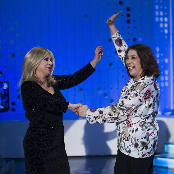 Tina Cipollari e Maria Bouzas