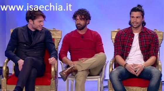 Trono classico - Marco Cartasegna e Luca Onestini