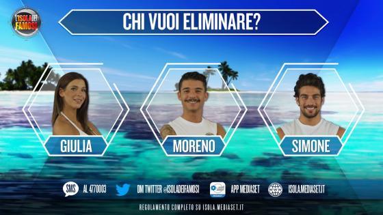 Giulia Calcaterra, Moreno Donadoni,Simone Susinna- L'isola dei Famosi