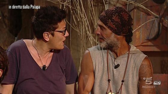 Imma Battaglia- Raz Degan - L'isola dei Famosi