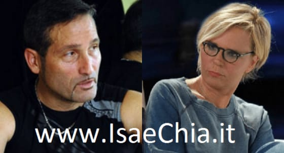 Steve La Chance e Maria De Filippi
