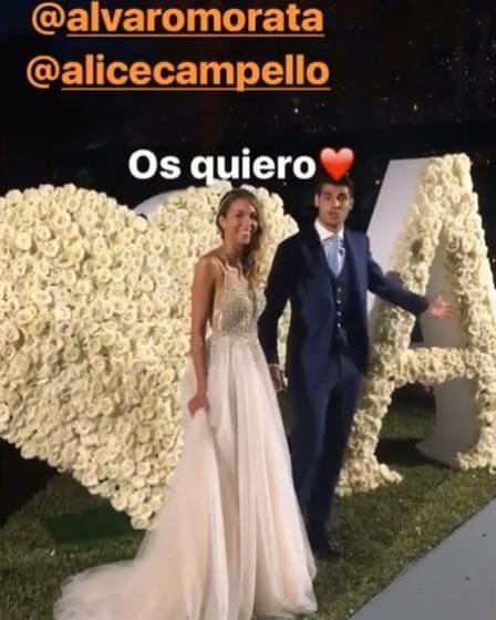 Alvaro Morata E Alice Campello Nozze Da Favola Per Il Calciatore E