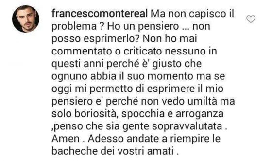 Instagram - Francesco Monte