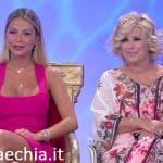 Trono classico - Sabrina Ghio e Tina Cipollari