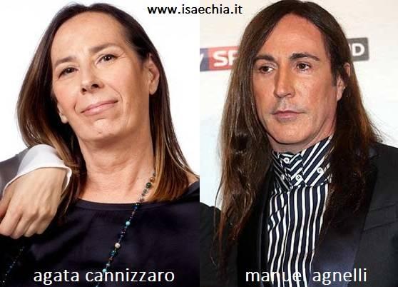 Somiglianza tra Agata Cannizzaro e Manuel Agnelli
