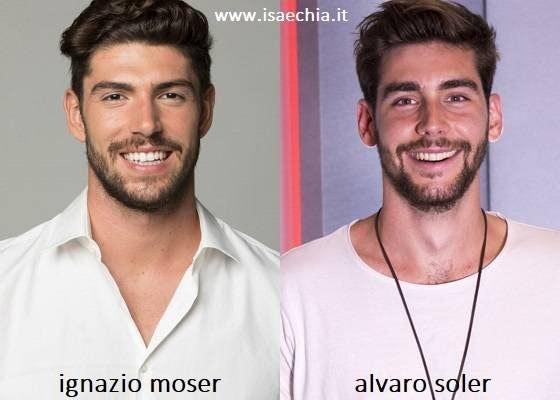 Somiglianza tra Ignazio Moser e Alvaro Soler