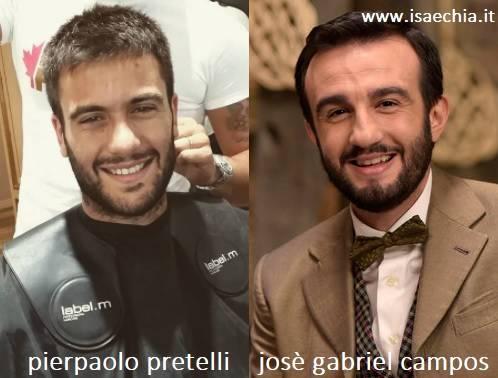 Somiglianza tra Pierpaolo Pretelli e José Gabriel Campos