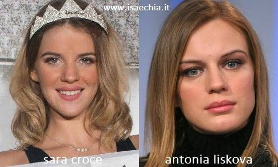 Somiglianza tra Sara Croce e Antonia Liskova
