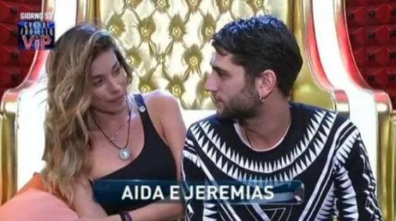 Aida Yespica e Jeremias Rodriguez