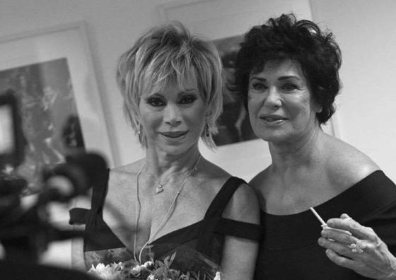 Corinne Clery e Carmen Russo