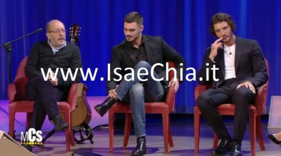 Francesco Monte, Stefano De Martino e Dario Vergassola