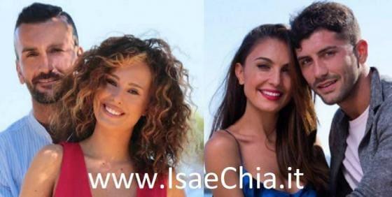 Nicola Panico, Sara Affi Fella, Alessio Bruno e Valeria Bigella