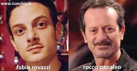 Somiglianza tra Fabio Rovazzi e Rocco Papaleo