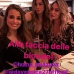Ivana Mrazova, Aida Yespica, Veronica Angeloni