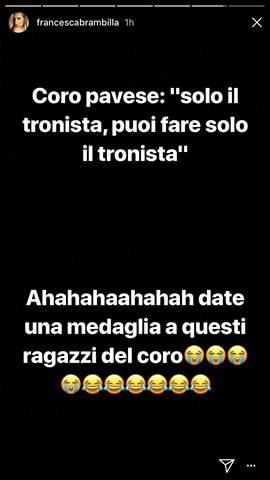 Instagram - Francesca Brambilla