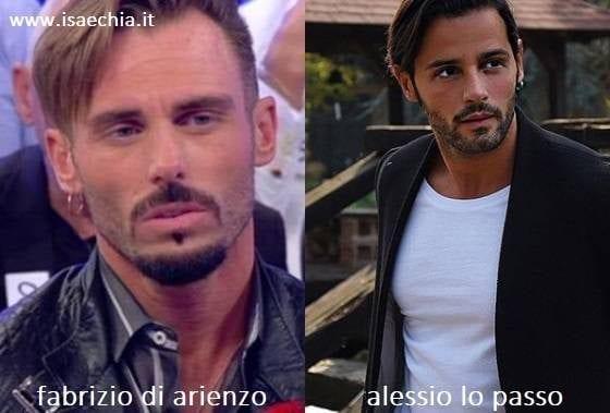 Somiglianza tra Fabrizio Di Arienzo e Alessio Lo Passo