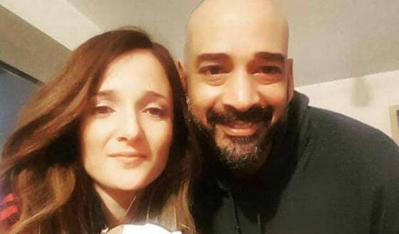 Angela Rende e Amaurys Perez