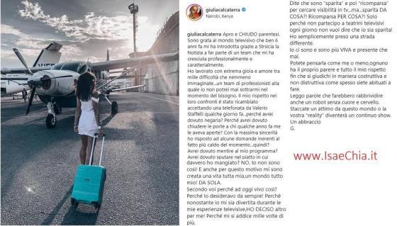 Instagram - Giulia Calcaterra