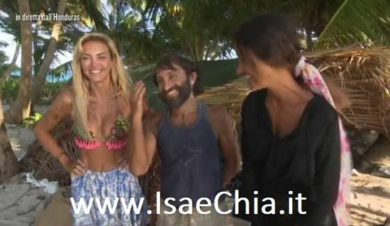 Isola 13 - Elena Morali, Simone Barbato e Rosa Perrotta