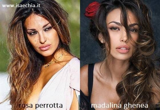 Similarity between Rosa Perrotta and Madalina Ghenea