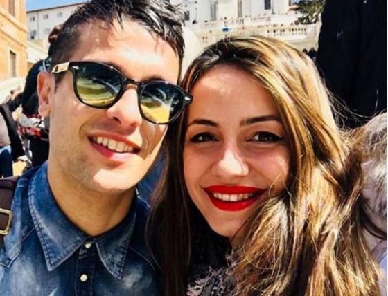 Anna Munafò e Matteo Milioti