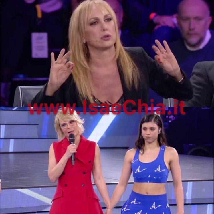 Alessandra Celentano, Maria De Filippi e Lauren Celentano