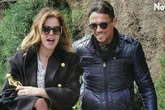 Giancarlo Pantano e Claudia Gerini