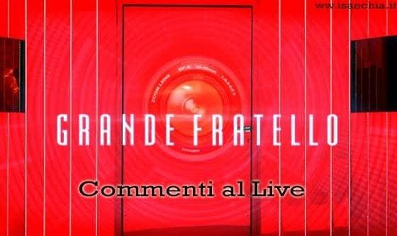 'Grande Fratello 15': commenti al live