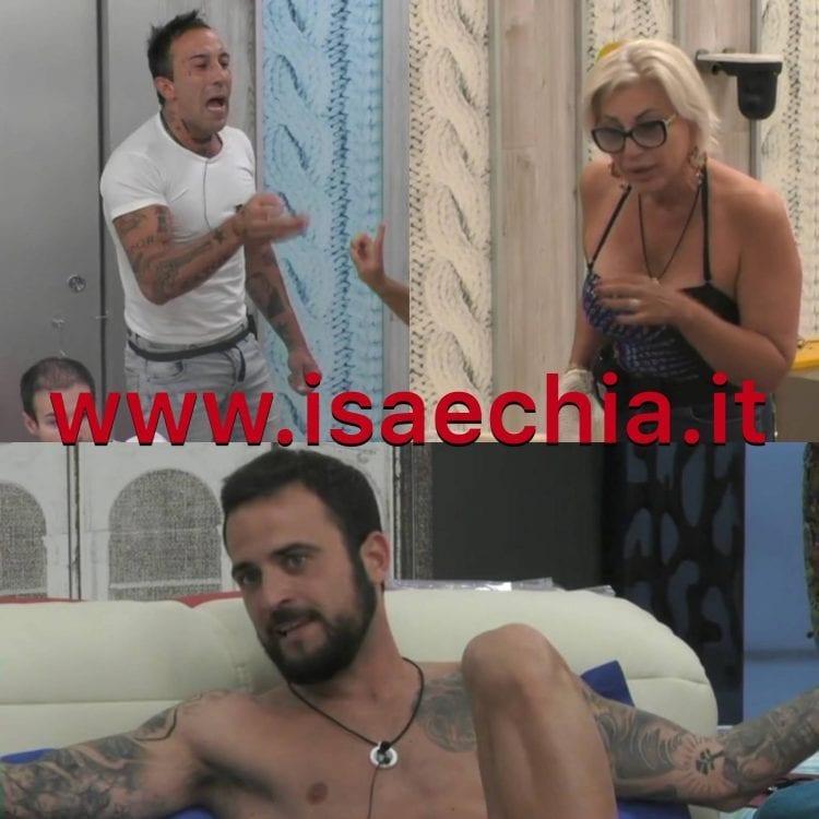 Simone Coccia, Lucia Bramieri, Danilo Aquino