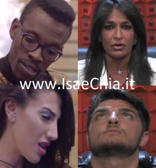 Baye Dame Dia, Aida Nizar, Patrizia Bonetti e Luigi Mario Favoloso