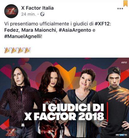 Facebook - X Factor