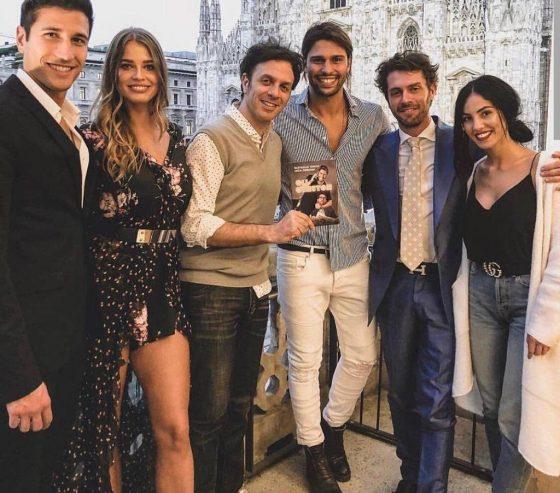 Gianmarco Onestini, Ivana Mrazova, Luca Onestini, Gabriele Parpiglia, Raffaello Tonon e Giulia De Lellis