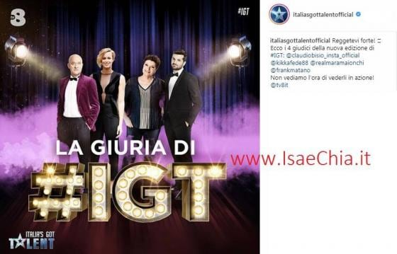 Instagram - Italia's Got Talent