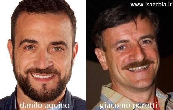Somiglianza tra Danilo Aquino e Giacomo Poretti
