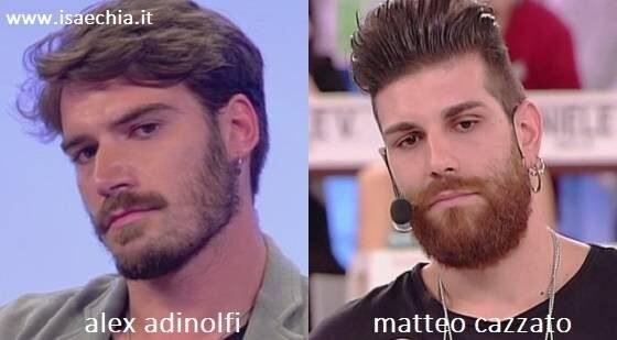 Somiglianza tra Matteo Cazzato e Alex Adinolfi