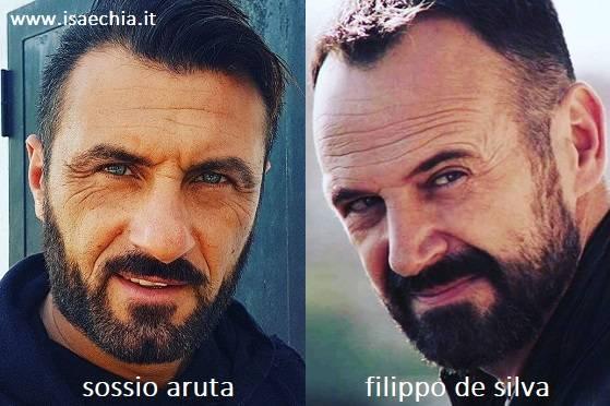 Somiglianza tra Sossio Aruta e Filippo De Silva di 'Squadra Antimafia'