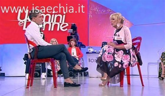 Trono over - Gemma Galgani e Marco Cappagli