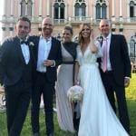 Daniele Bossari, Filippa Lagerback, Michelle Hunziker, Rudy Zerbi, Beppe Ambrosini