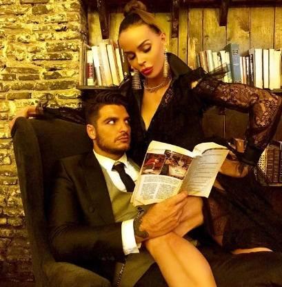 Luigi Favoloso e Nina Moric sono tornati insieme: l'annuncio ufficiale