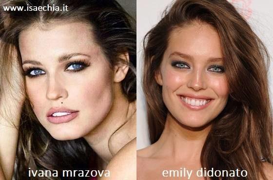 Somiglianza tra Ivana Mrazova e Emily DiDonato