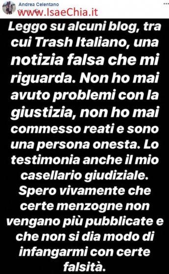 Facebook - Andrea