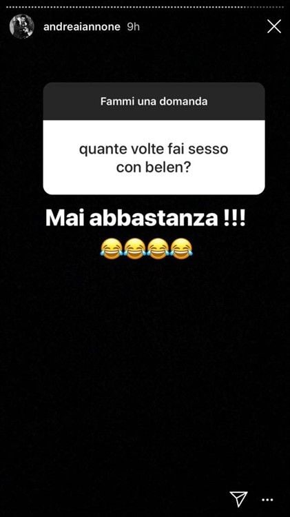 Andrea Iannone Instagram Stories domande