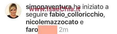 Instagram Simona Ventura