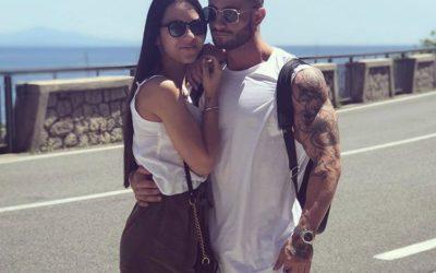 Raffaela Giudice e Andrea Celentano