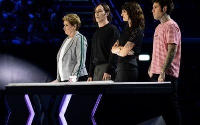X Factor 12 - Mara Maionchi, Manuel Agnelli, Fedez e Asia Argento