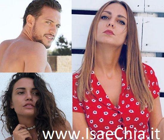 Carolina Schiavi, Gianpaolo Quarta e Martina Sebastiani
