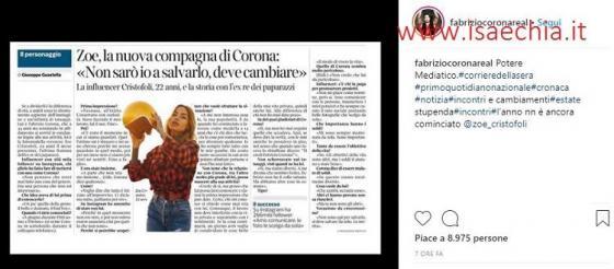 Instagram Corona