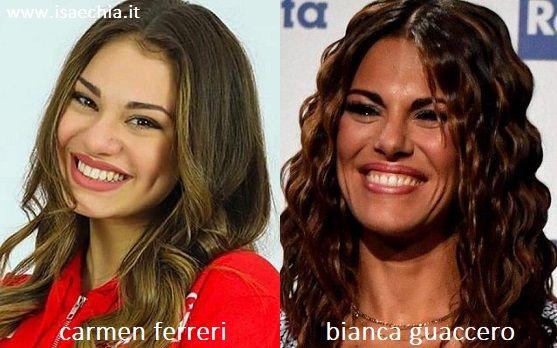 """Bianca Guaccero stupenda con un vestito versione """"red passion"""" – FOTO"""